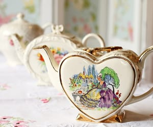 eclectic, heart, and crockery image