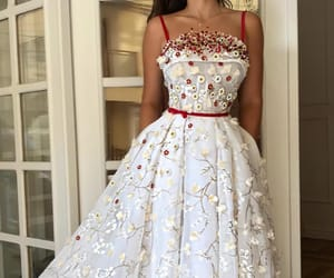 dress, love, and fashion image