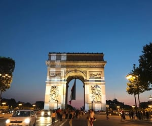 Champs-Elysees, arcdetriomphe, and paris image