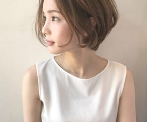 asian, bob haircut, and fashion image