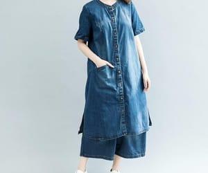 etsy, women dress, and short sleeve dress image
