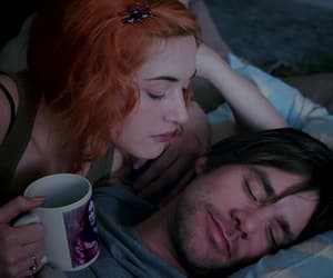 eternal sunshine of the spotless mind, couple, and kiss image