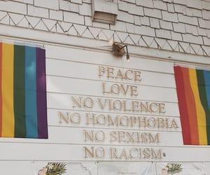 equality, flag, and rainbow image