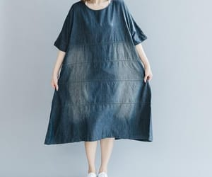 etsy, summer dress, and cotton dress image