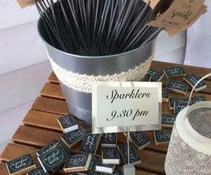 sparkle and wedding image