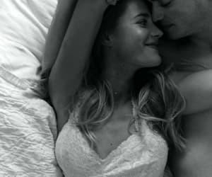 amor, black & white, and pareja image