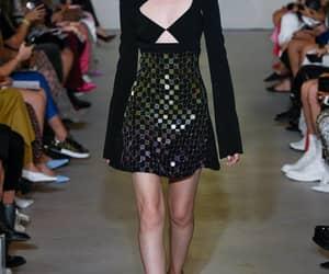 fashion, model, and david koma image