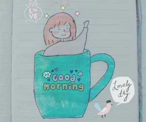 coffee, good morning, and painting image