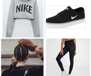 athletic, casual, and leggings image