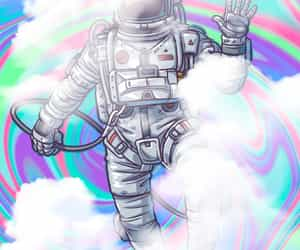psicodelic, space, and wallpaper image