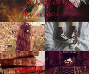 aesthetic, harry potter, and red image