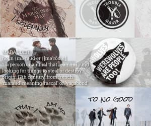 aesthetic, james potter, and remus lupin image