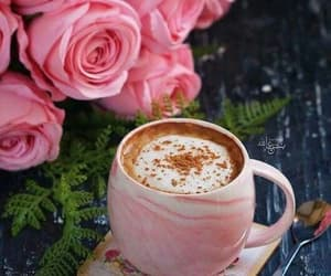 beautiful, drink, and flowers image