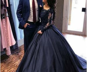 ball gown, princess, and prom dress image