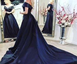 evening dress, prom dress, and pageant dress image