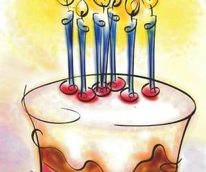 happy birthday and torta de cumpleaños image