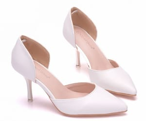 pointed toe, office high heels, and 7 cm stiletto heels image