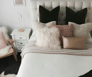 bed, cool room, and creative image