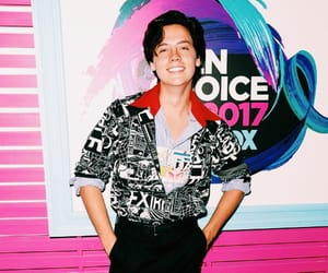 actor, cole sprouse, and photographer image