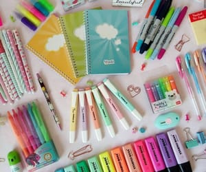 art supplies, college, and goals image