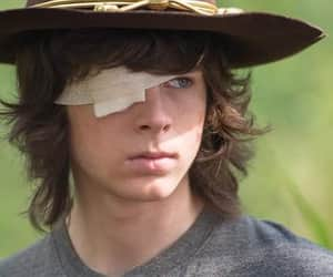 chico, castaño, and carl grimes image