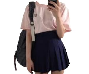 skirt, style, and outfit image