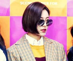 fashion, kpop, and sunglass image