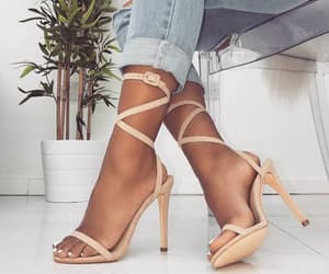 aesthetic, high heels, and style image