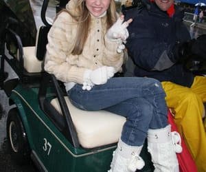 disney, miley cyrus, and winter image