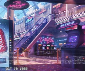 1985, 80s, and arcade image