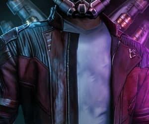 colors, Marvel, and chris pratt image