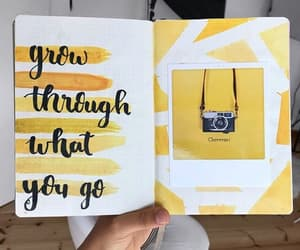journaling and yellow image