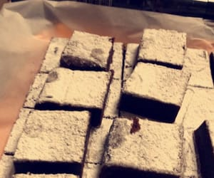 addict, brownies, and chocolates image
