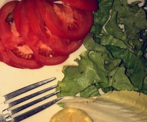food, healthy, and whi image