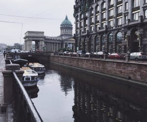 city, russia, and saint petersburg image