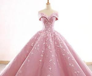 ball gowns, prom dresses pink, and gorgeous prom dresses image