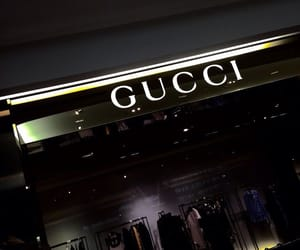 gucci, aesthetic, and dark image