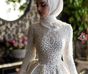 beauty, bridal, and muslim image