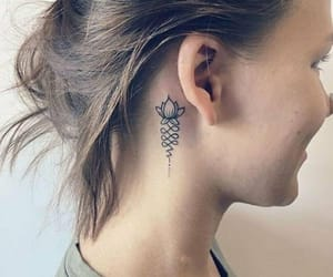 lotus, lotus flower, and tattoo image