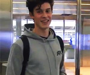 gif, shawn mendes, and funny face image