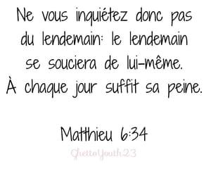 bible, citation, and matthieu image