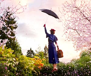 Emily Blunt, gif, and Mary Poppins image