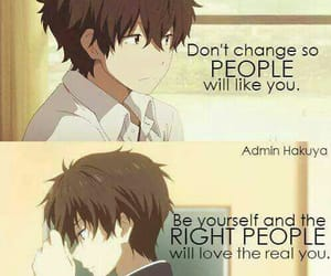 anime, phrases, and words image