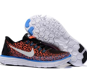 blue, distance, and nike image