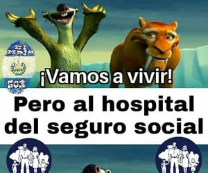 meme, sid, and seguro image