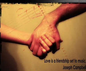 friendships, quotes, and love image