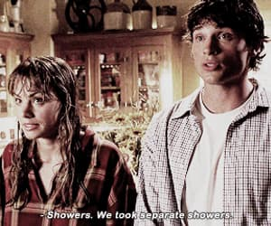 smallville, clois, and gif image