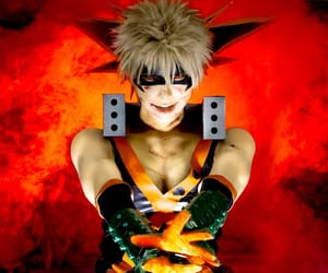 cosplay, katsuki bakugo, and bakugou image