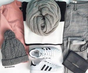 adidas, autumn, and fashion image