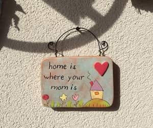 home and mother image